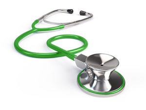 Stethoscope-green