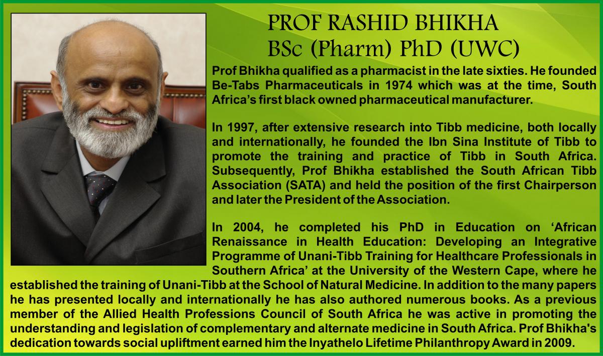 Dr Rashid Bhikha